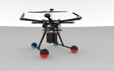 Innovator Nick bestrijdt 'watermonsters' met drone