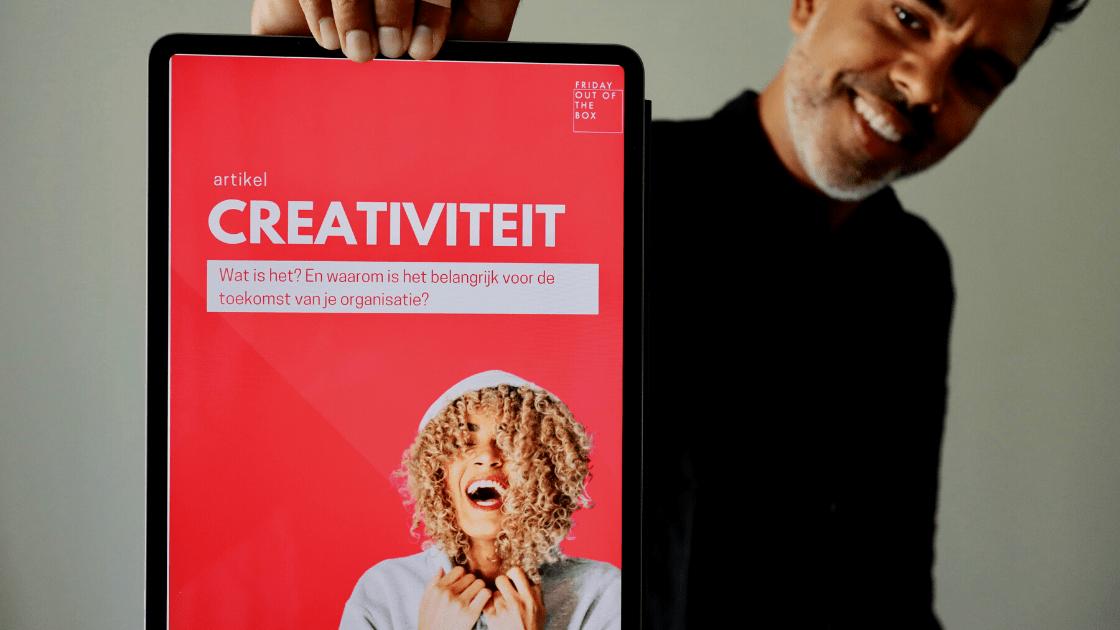 Blog Creativiteit. Wat is het? En waarom is het belangrijk voor je organisatie?