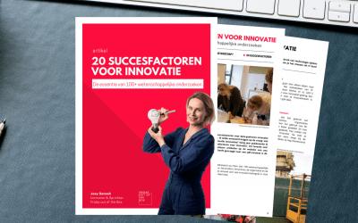 20 succesfactoren voor innovatie