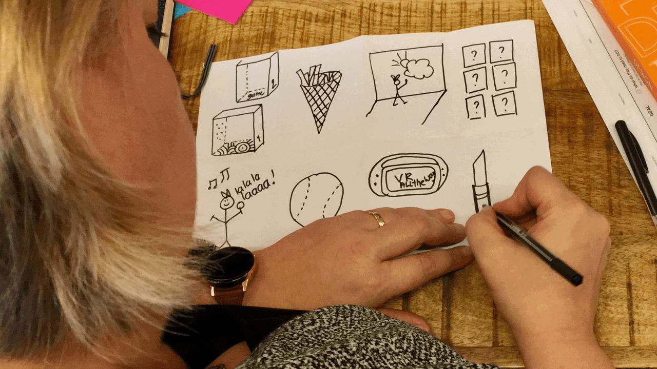 Blog Creatieve technieken: Crazy 8 en de kracht van visualisatie