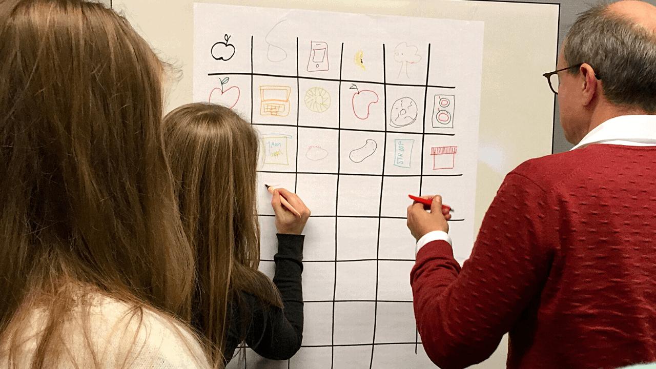 Blog Creatieve technieken Divergeren met Apple Drawing