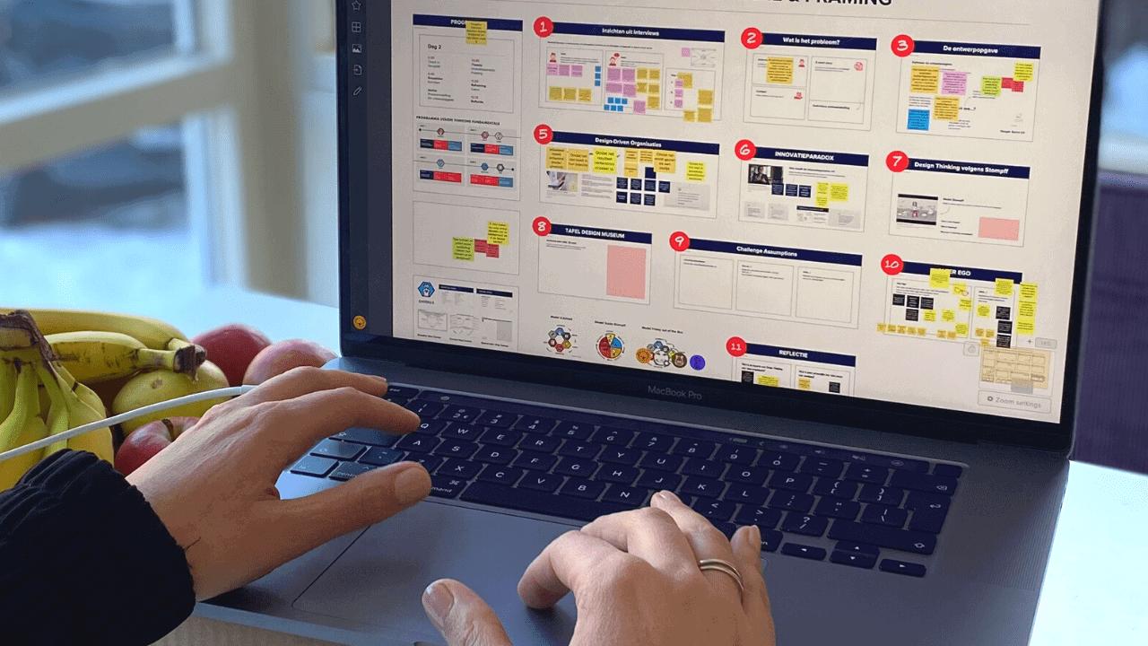 Online Brainstorm faciliteren