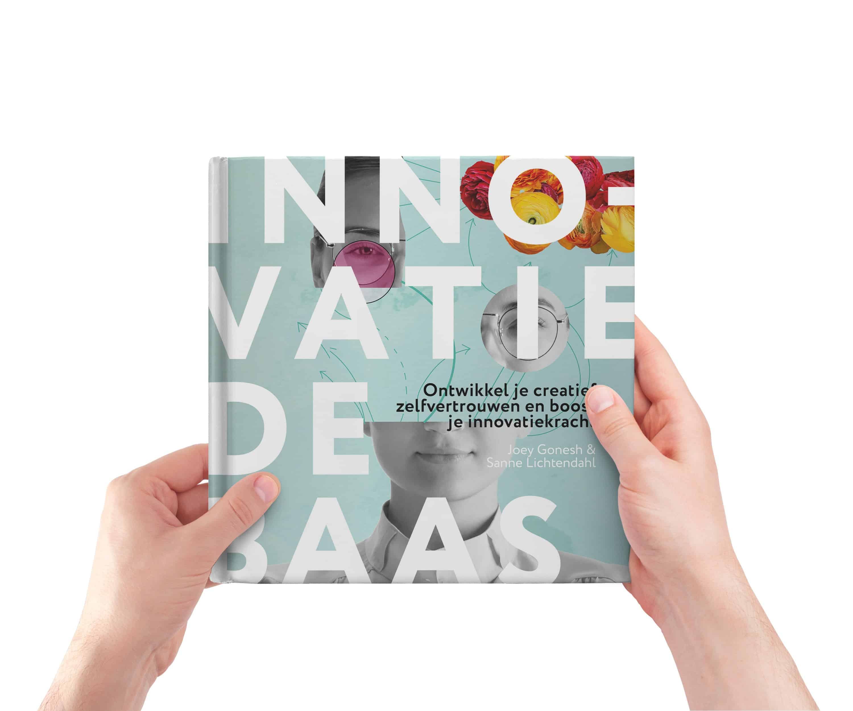 Boek Innovatie de Baas   Sanne Lichtendahl en Joey Gonesh